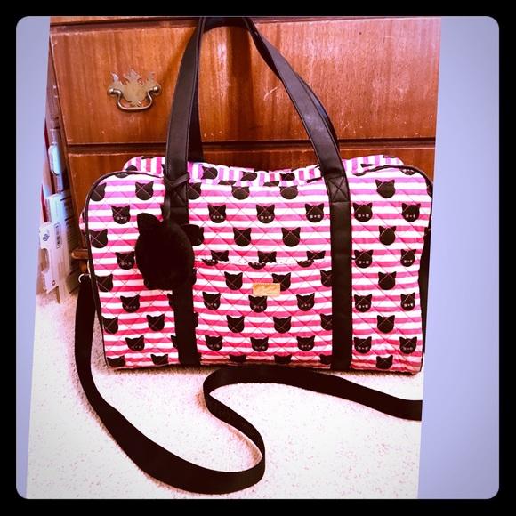 Betsey Johnson Handbags - Betsy Johnson travel bag